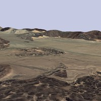 3d model terrain mtx-01 landscape