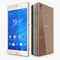 3d model of sony xperia z3