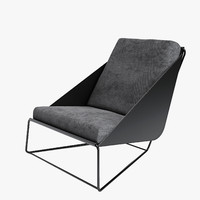 bonaldo alfie armchair 3d model