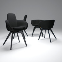 tom-dixon-scoop-chair 3d model