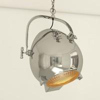3d lamp eichholtz spitfire