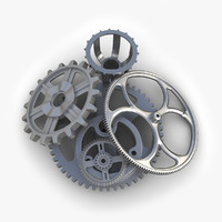 maya gears set 06