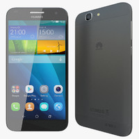 3d realistic huawei ascend g7