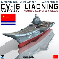 Chinese aircraft carrier CV-16 Liaoning