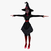 3ds max witch rigged