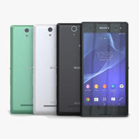 3d 3ds sony xperia c3 dual