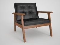 acorn bark armchair max