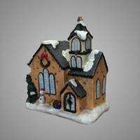 toy house 3d obj