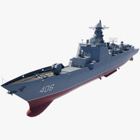 3d model destroyer army navy