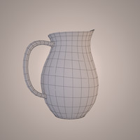 3d max jug glass