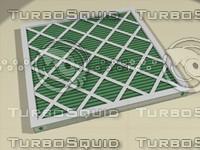 standard air filter 3d fbx