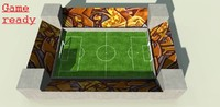 3d 3ds foot ball football