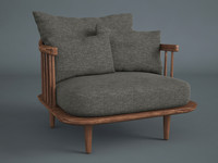 max fly lounge tradition armchair