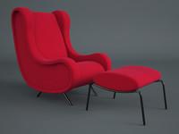 3d model sir arflex armchair