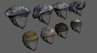 3d model idf helmets