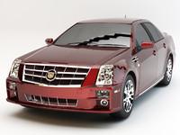 Cadillac STS 2010 studio
