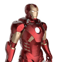 Iron Man 3 Suit - Mark 7 Armor Pepakura