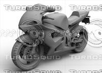 motorcycle moto 3d max
