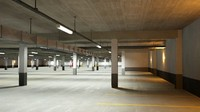 Underground Parking Garage  02