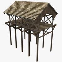 3d modular bridge model