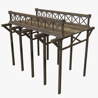 3d model of modular bridge