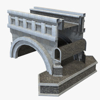 3ds max modular bridge