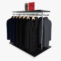 3d men s coats rack