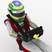 race driver formula e 3d model