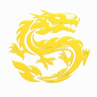 3d model chinese dragon symbol