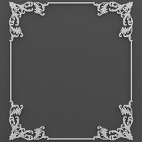 corner element 3d 3ds