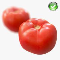 3d model tomato scaned