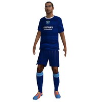 rigged soccer player 6 max