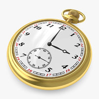 pocket watch 3d 3ds