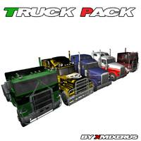 3d truck pack 5 model
