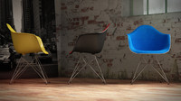 vitra eames plastic armchair c4d