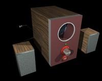 3d speaker 2 1