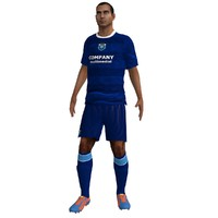 3d rigged soccer player 6