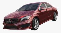 3d model mercedes benz cla 2015