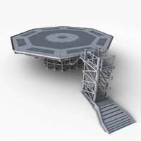 landing platform max