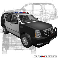 escalade police car max