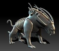 3ds monster dog