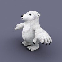 bear cartoon 3d max
