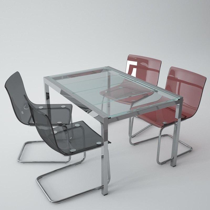 Ikea Furniture Glivarp Table 3d Ma
