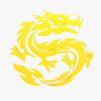 3ds max chinese dragon symbol