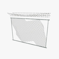 Barbed Wall Broken (Game Model)