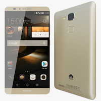 3ds realistic huawei ascend mate