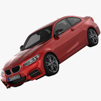3d max bmw m235i coupe