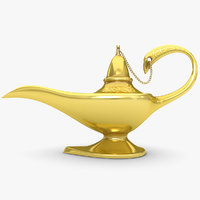 magic lamp 3ds