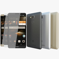 Huawei Ascend Mate 7 All Colors