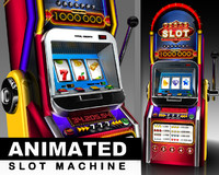 slot machine 3d max